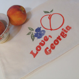 Love-GA-fruit teatowel-atlanta-handmade-fastsoft-press