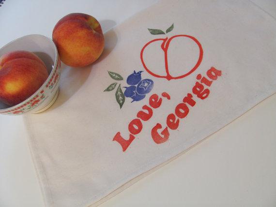 Love-GA-fruit teatowel-atlanta-handmade-fastsoft-press