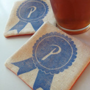PBR-fabric-coaster-handmade-block-printed